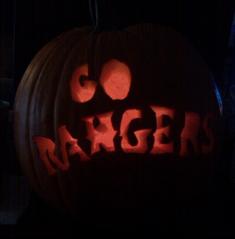rangers pumpkin