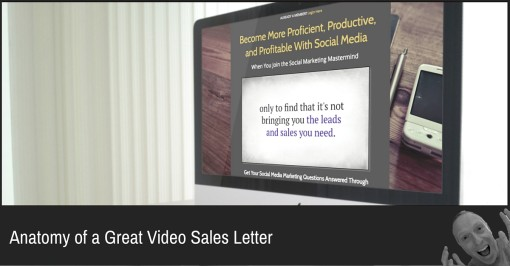 Anatomy Of A Great Video Sales Letter Baer On Marketing