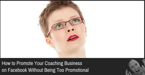 promote coaching on facebook