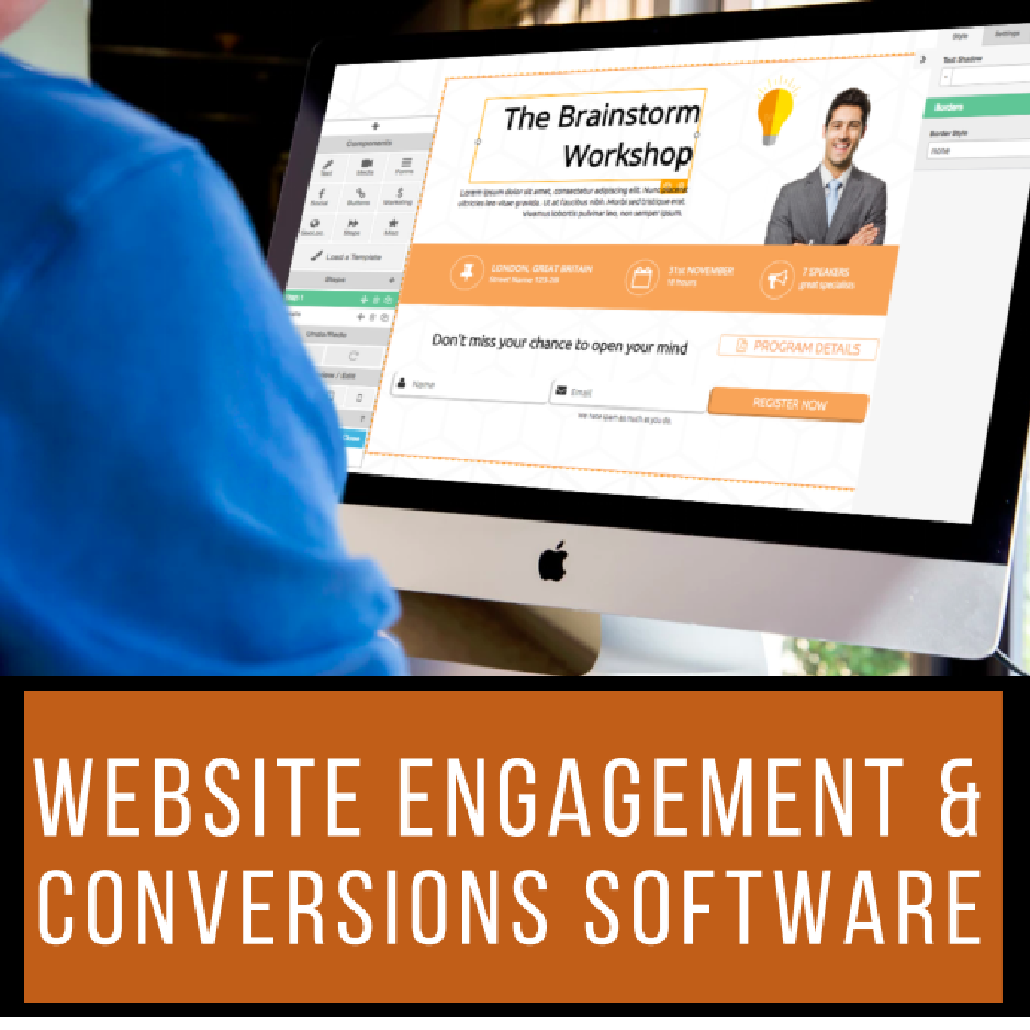 Website Engagement and Conversion Software