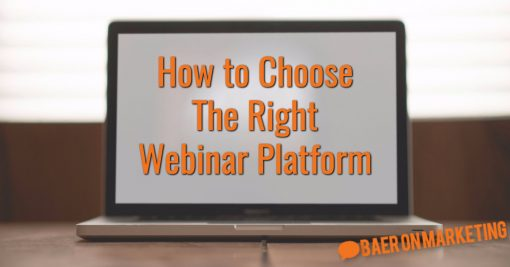 How to Choose The Right Webinar Platform
