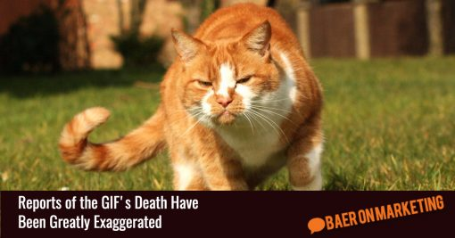 Reports of the GIF's Death Have Been Greatly Exaggerated