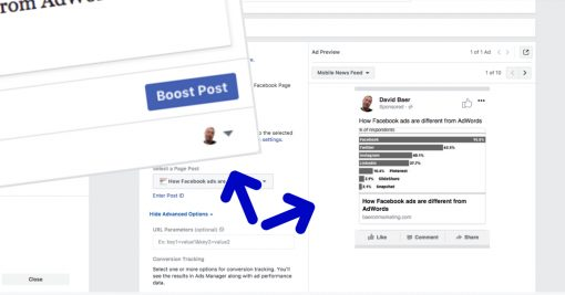 Facebook Ads vs. Boosted Posts (They're Not the Same Thing)