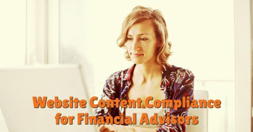 Website Content Compliance for Financial Advisors